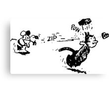 Krazy Kat and Ignatz Canvas Print