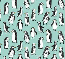 Penguin - Mint by Andrea Lauren by Andrea Lauren