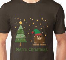 Merry Christmas Bigfoot Unisex T-Shirt