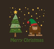 Merry Christmas Bigfoot Unisex T-Shirt