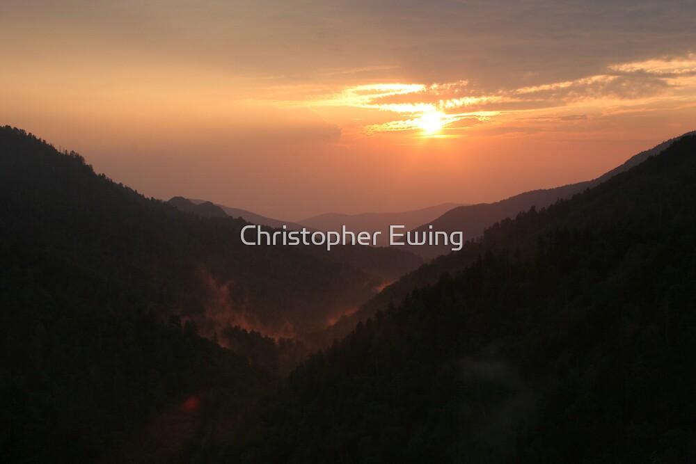 firey fog by Christopher  Ewing