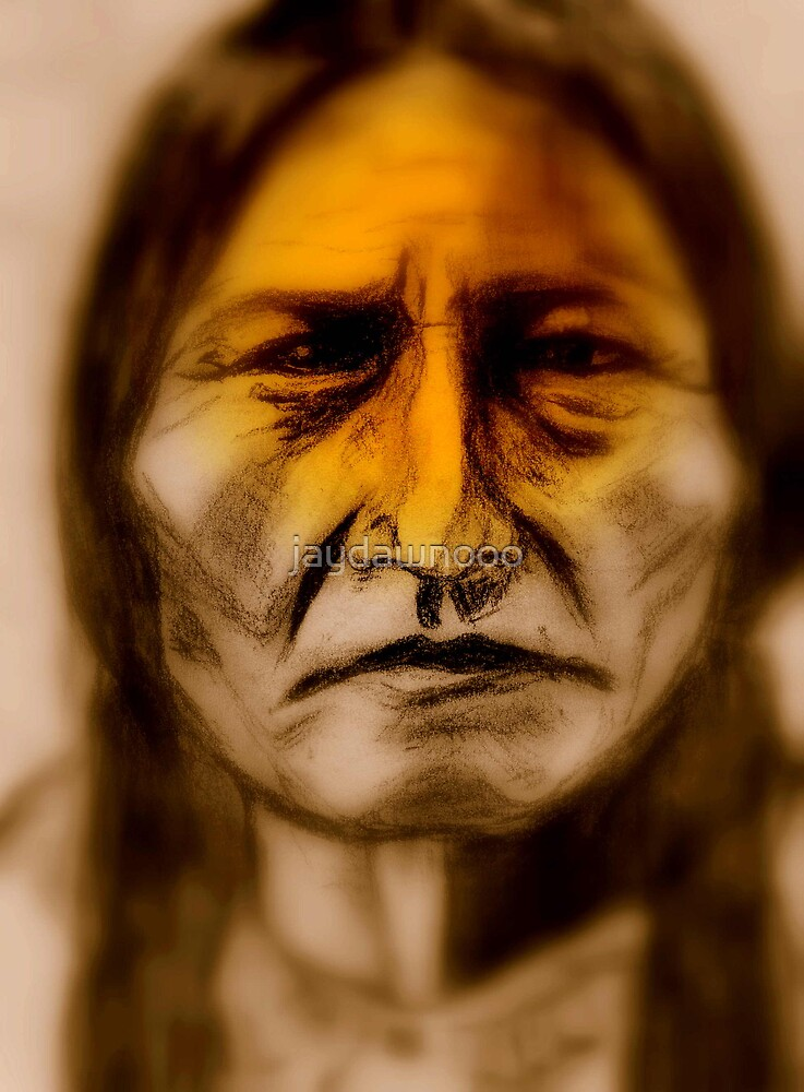sitting bull by jaydawnooo
