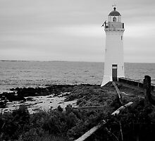 Griffith Island, Port Fairy, August 2007 by Leigh Kreutzer-Hull