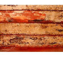 Red Sandstone Photographic Print