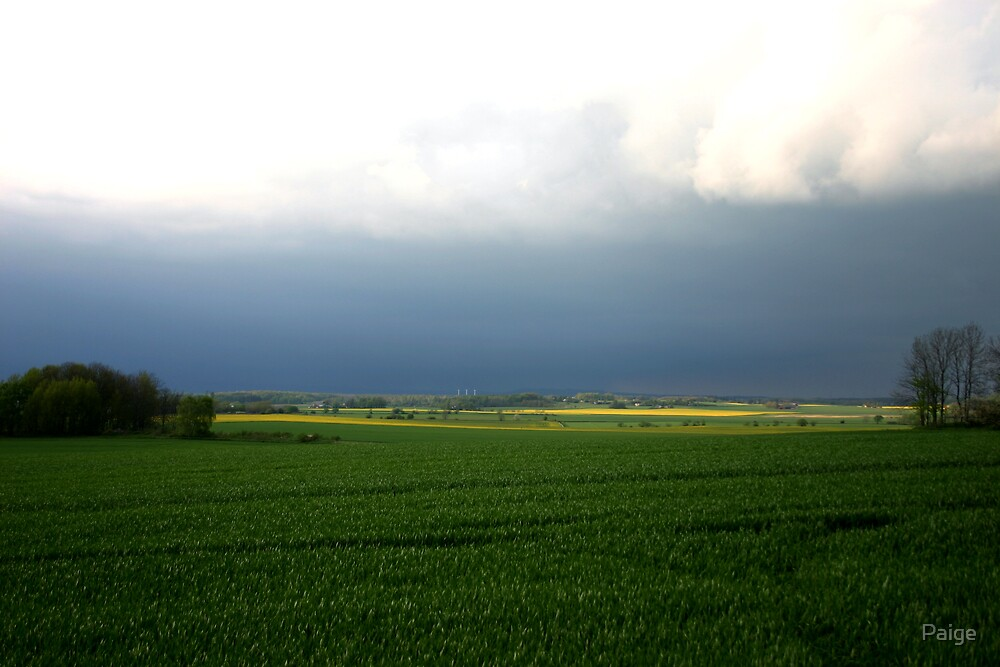 Ostergotlands' stormy skies by Paige