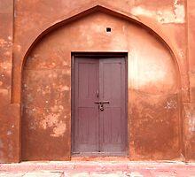 Red Door by Coralie Alison