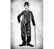 Charlie Chaplin Photographic Print