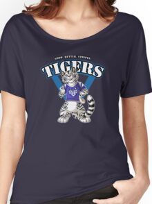 Team WHITE TIGER (blue) Women's Relaxed Fit T-Shirt