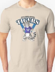 Team WHITE TIGER (blue) Unisex T-Shirt
