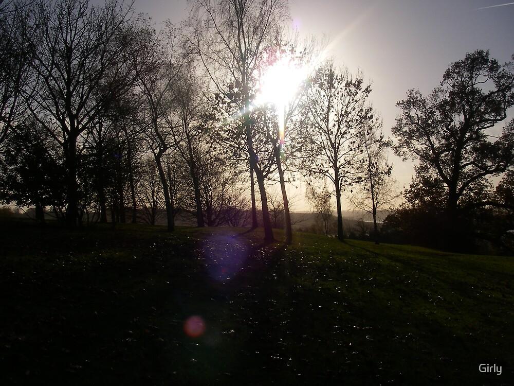 Light Shining Through by Girly