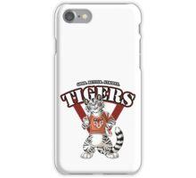 Team WHITE TIGER (red) iPhone Case/Skin