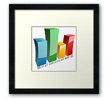 Statistics Framed Print