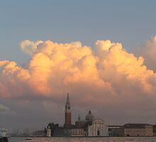 Sunset over San Giorgio Maggiore, Venice by RosemaryO