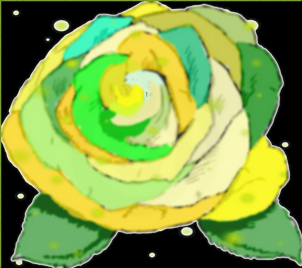 GREEN ROSE by juliecat