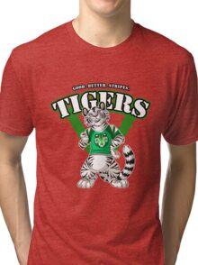 Team WHITE TIGER (green)  Tri-blend T-Shirt