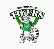 Team WHITE TIGER (green)  Men's Baseball ¾ T-Shirt