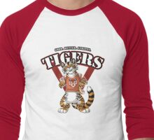 Team TIGER (red) Men's Baseball ¾ T-Shirt