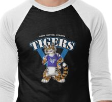 Team TIGER (blue) Men's Baseball ¾ T-Shirt