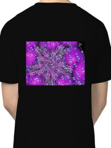 Electronic Fireworks and Bubbles Classic T-Shirt
