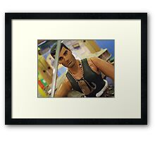 Action Man (circa 2003) Framed Print
