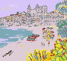 A view of Cefalu' by Loredana Messina