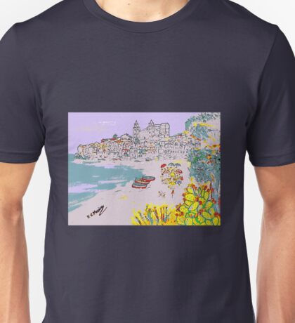 A view of Cefalu' Unisex T-Shirt