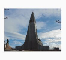 Hallgrímskirkja Church  One Piece - Short Sleeve