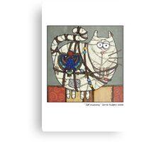 Cat Mummy Metal Print