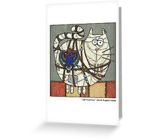 Cat Mummy Greeting Card