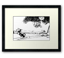 Krazy Kat comic Framed Print