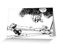 Krazy Kat comic Greeting Card