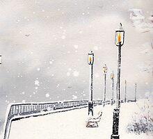 SALTWATER SNOW by artsybob