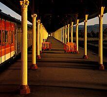 Train Station Albury by Hans Kawitzki
