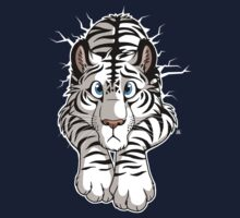 STUCK - White Tiger T-Shirt