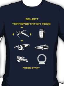 Sci-fi Transportation 2 T-Shirt