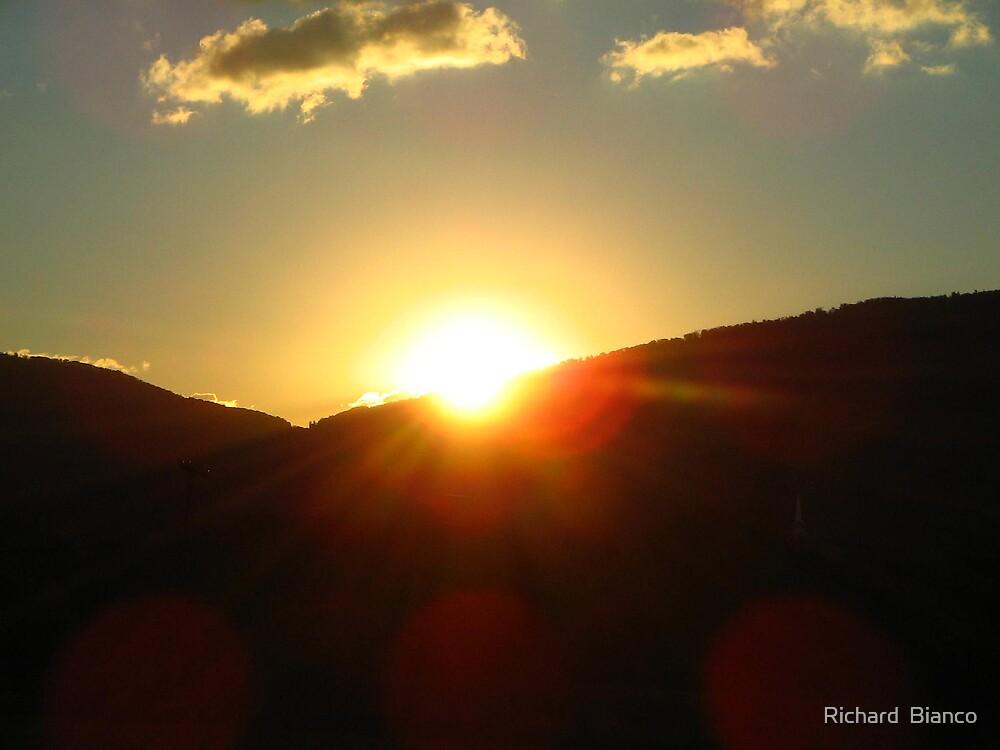 Shenendoah Sunrise by Richard  Bianco