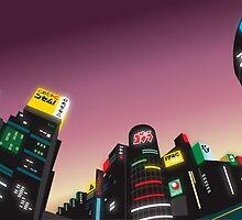 Tokyo at Dusk by Dan Marshall
