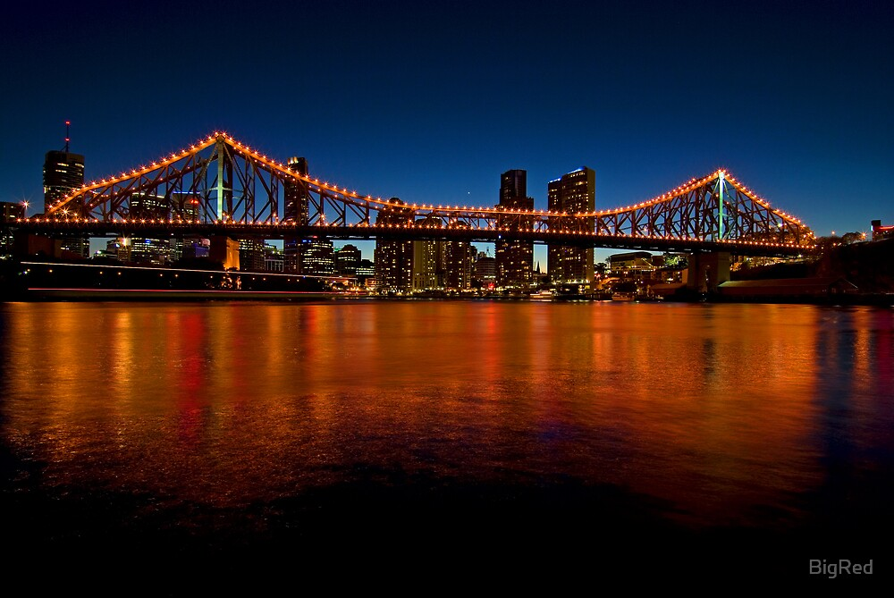 Storey Bridge Twilight by BigRed