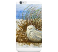 SNOWY OWL WINTER VISITOR iPhone Case/Skin