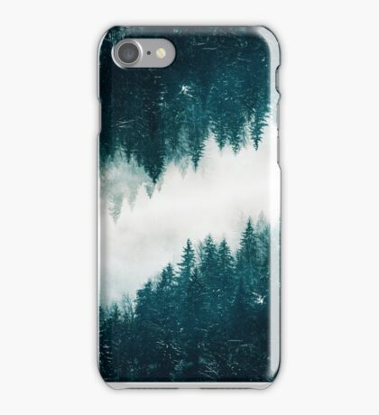 Snowy Surreal Forest iPhone Case/Skin