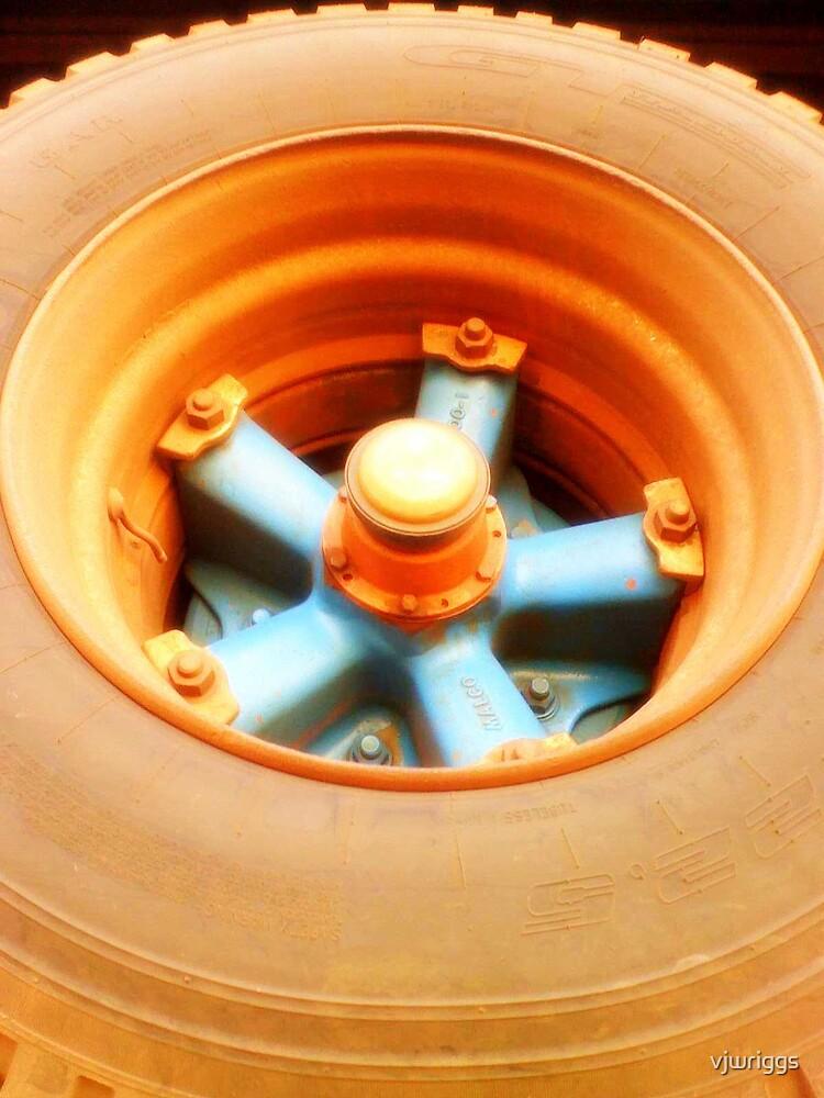 Truck Tyre by vjwriggs