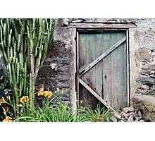 Ye Old Door Photographic Print