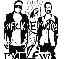 Macklemore and Ryan Lewis  by DesignOnFashion