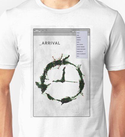 Arrival Unisex T-Shirt