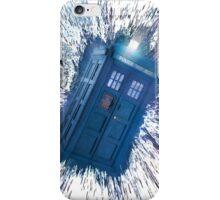 The Doctor's Radiating Tardis iPhone Case/Skin