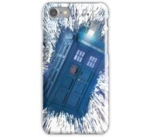 The Doctor's Radiating Tardis iPhone Case/Skin