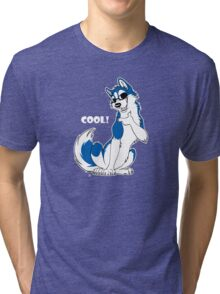 COOL - Husky Blue Tri-blend T-Shirt
