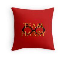 Team Harry Throw Pillow