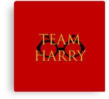 Team Harry Canvas Print