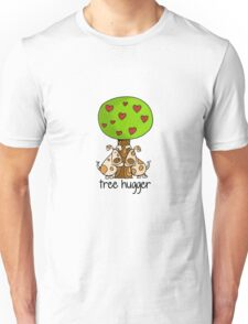 Tree huggers Unisex T-Shirt